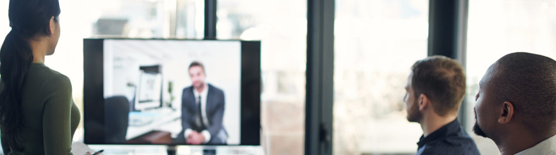lawyers attending a remote deposition