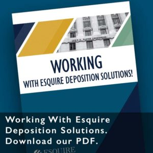 Working With Esquire Solutions PDF